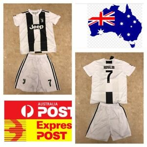 best sneakers 2b1ef 7e497 Details about Cristiano Ronaldo Juventus new jersey set
