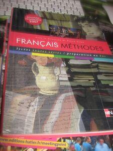 Details Sur Livre Francais Methode Lycee Toutes Series Prepa Au Bac Nathan 9782091726601