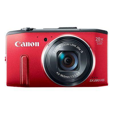 CANON SX280 Digital Camera Red