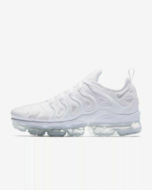Size 4 - Nike Air VaporMax Plus White Platinum 2018