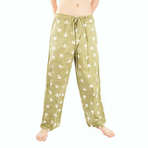 Life-is-Good-Artichoke-Green-Golf-Ball-Icon-Tee-Pajama-Lounge-Pants-Sleep-PJ-NWT