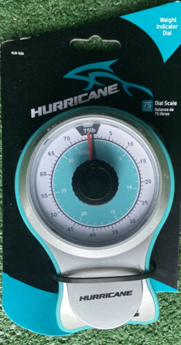 Non-Slip Grip Hurricane 75 lb Dial Scale w//Tape Measure Hold Weight Recorder