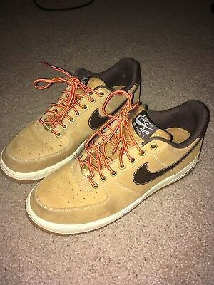 the best attitude 5d64f f3676 ... canada nike air force 1 low retro wheat baroque brown flax af1 qs  488298 704 usa