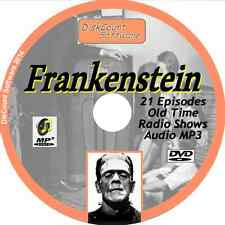 Frankenstein - 21 Old Time Radio Shows - Audio MP3 CD