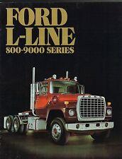 1985 Ford L-series Truck Wiring Diagram L8000 L9000 LTL LN LT LNT 600-9000  for sale online   eBayeBay