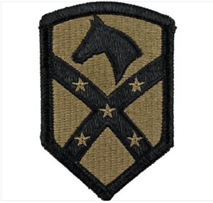 PAIR ARMY PATCH: 15TH SUSTAINMENT BRIGADE EMBROIDERED ON OCP GENUINE U.S
