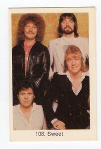1970s swedish pop star card 108 uk glam rock band the sweet brian steve andy ebay. Black Bedroom Furniture Sets. Home Design Ideas