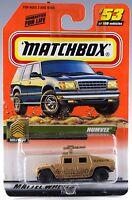 Matchbox 53 Humvee With Mb 2000 Logo