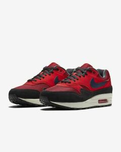 Details about Nike Air Max 1 | Men's Size 8, 11 | Red CrushMidnight NavyWhite AH8145 600