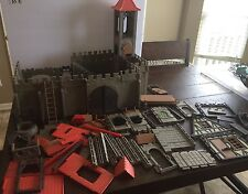VINTAGE 1977 PLAYMOBIL 3450 MEDIEVAL KNIGHTS CASTLE Play Set Not Complete