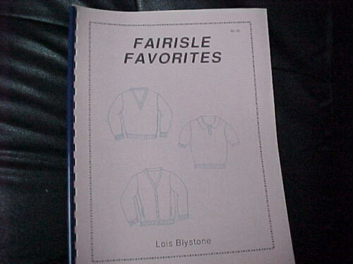 Favorite Fairaisle Sweaters Easy To Knit