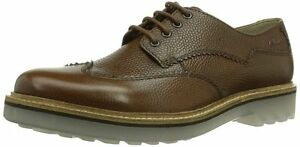 Clarks-Hombre-x-monmart-LIMITE-Marron-interes-trendy-Ortholite-UK-8-5-9-10