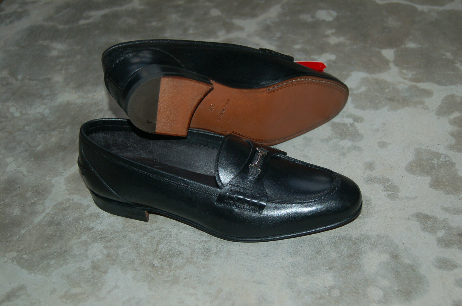 WOMAN - 37 - PENNY LOAFER - SOFTY CALF NERO - LEATHER SOLE