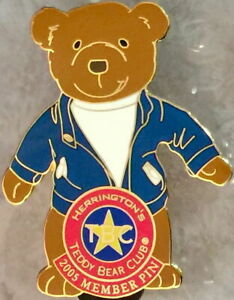 Herrington-Teddy-Bear-Club-HTB-2005-TBC-Member-Exclusive-PIN-New-on-Card