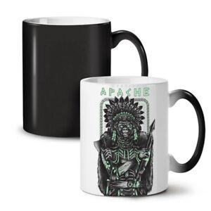 Warrior Apache Fashion NEW Colour Changing Tea Coffee Mug 11 oz   Wellcoda