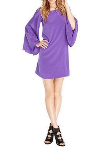 NICOLE MILLER ATELIER ELIZABETH BELL SLEEVE DRESS MEDIUM  BT0653