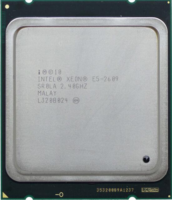 Intel Xeon E5-2609-V1 (SR0LA) 2.40GHz 4-Core LGA2011 CPU