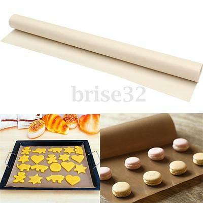 2Pcs 30x40cm Reuseable Oven & Pan Liner Baking Non-Stick Cooking Grill Mat Sheet