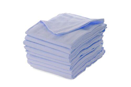 Moltontuch blau kochfest Spucktücher Moltontücher Mullwindeln Babyunterlage