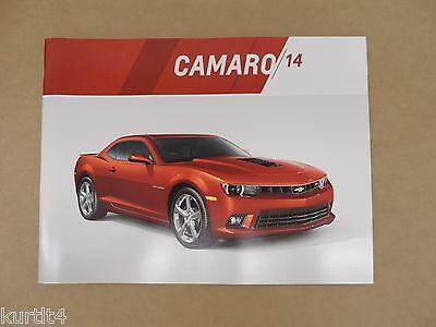 2014 Chevrolet dealer sales brochure Camaro Z28