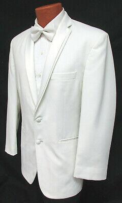 Boys White Tuxedo Jacket with Satin Lapels Formal Wedding Ringbearer Cruise    eBay