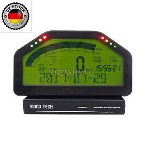 Détails sur Dash Race Display-Full Kit de capteur, tableau de bord ÉCRAN  LCD