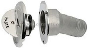 Details about Stainless Steel FUEL Deck Filler 50mm 2