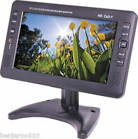 9 Inch Digital Analog Portable Television Altronics 12 Months In Aust Warranty