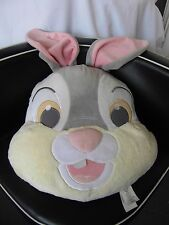 DISNEY STORE THUMPER BUNNY RABBIT LARGE FACE CUSHION PILLOW SOFT TOY plush