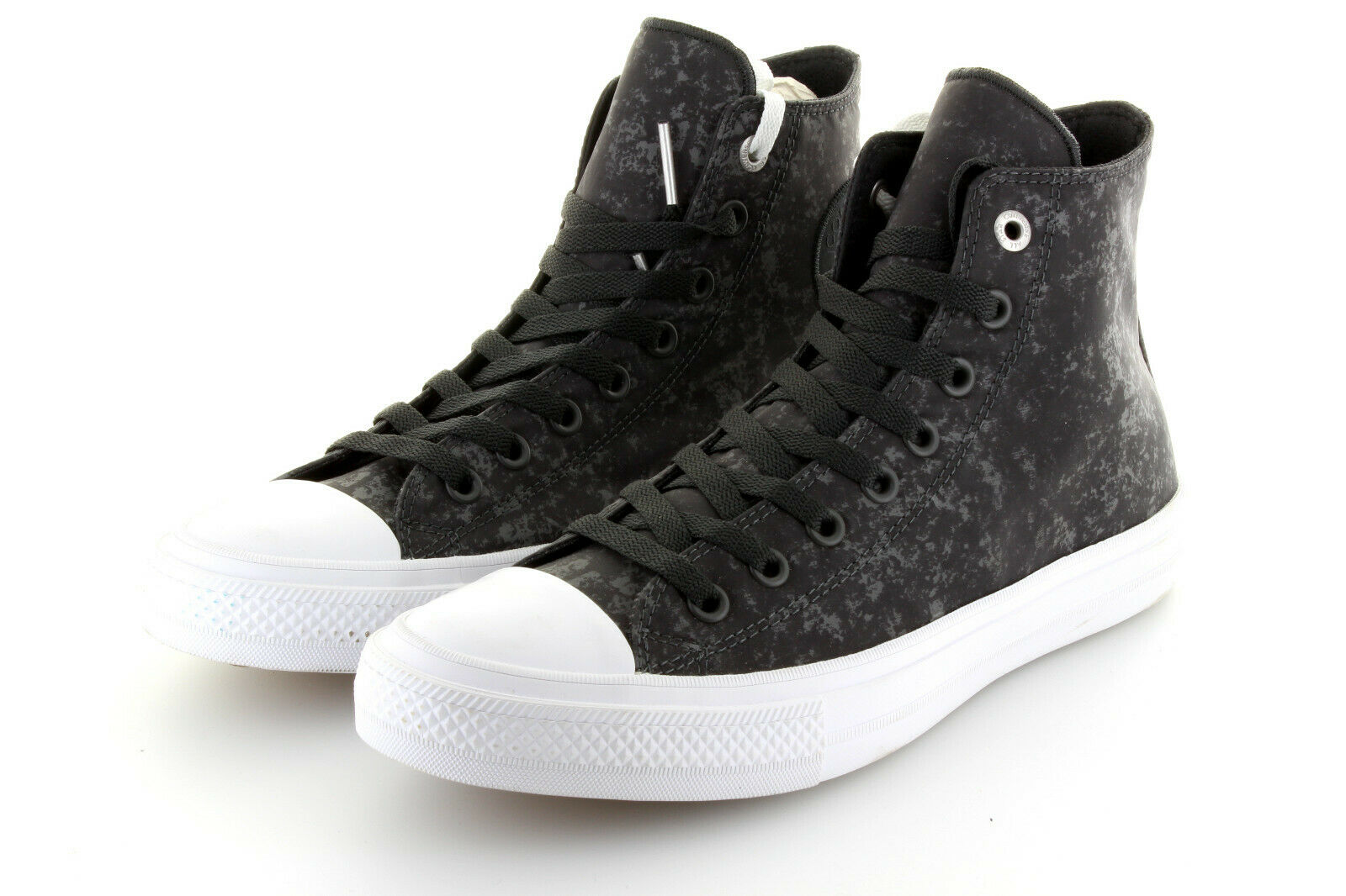 Converse Chuck Taylor AS II Hi Black Pure Silver Textile Shine  42,5   43 US9