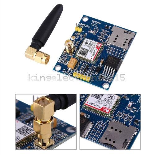 SIM800C Development Board Quad-band GSM GPRS Bluetooth Module w//Antenna inm