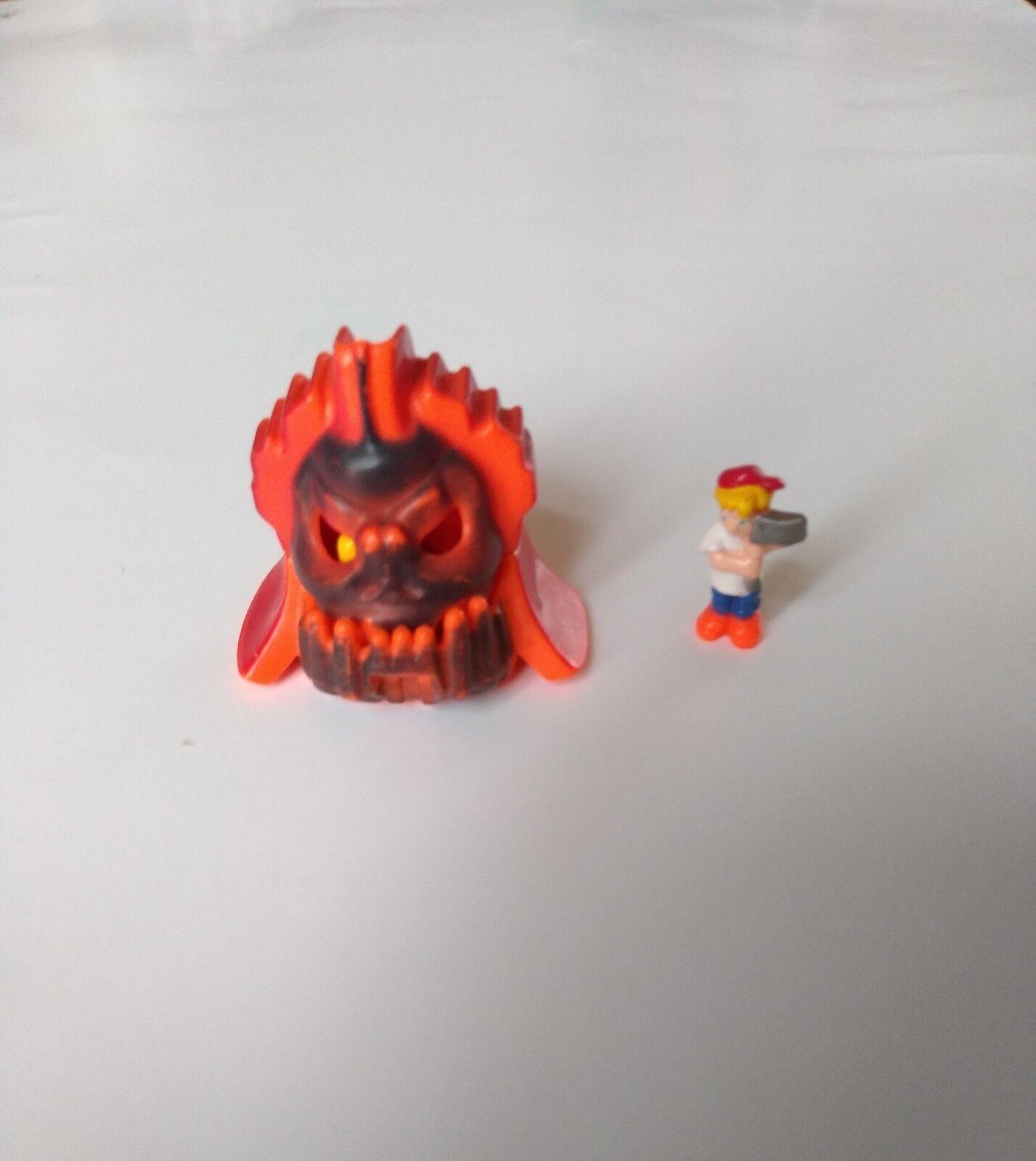 Mighty Max Shrunken Head Lava Lord 100% Complete - blueebird Toys