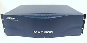 Details about Miranda Media Networks Audio Video Codec MPEG-2 Chassis  General Datacom MAC 500