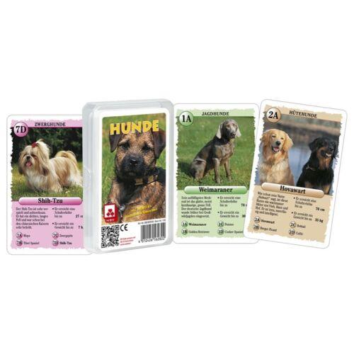 Nürnberger 05619910153 1132 32 Karten Hunde Großbild-Quartett