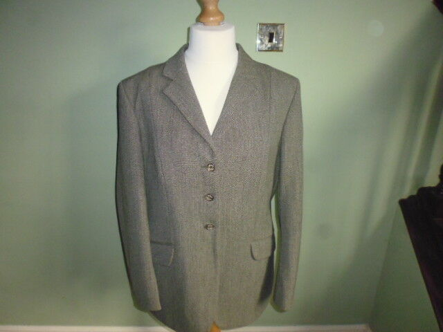 Mears Mears Mears PYTCHLEY Keepers Tweed Donna Mediumweight Show Giacca verde 44  02b520