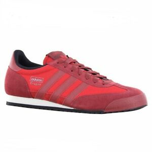 Adidas Dragon sneakers MENS red white and gold US-12 /UK-11.5 /JP ...