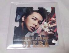 "Super Junior ""OPERA"" Japan Single CD Limited Edition SUNGMIN AVCK-79070 kpop"