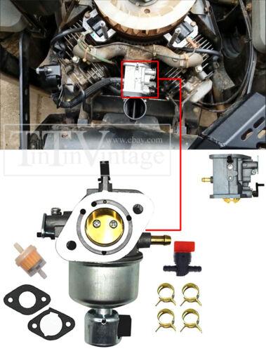 Carburetor For Kawasaki FH580V 19Hp Engine Exmark Husqvarna John Deere 235 Mower