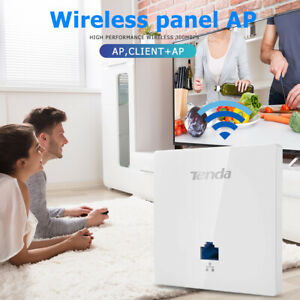 Tenda-W6-S-300Mbps-in-Wall-Wireless-Access-Point-WiFi-Repeater-Extender-Panel-AP