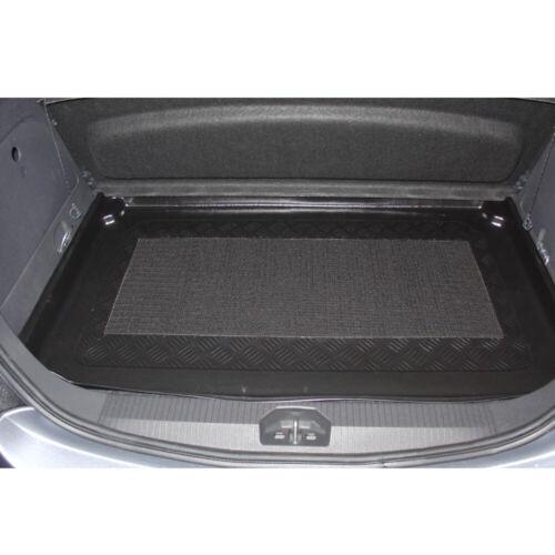 erhöhte Ladefläche Kofferraum Wanne Schale Matte für Opel Corsa E 2014