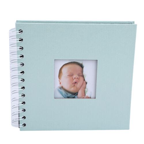 DIY Photo Baby Growing Family Lovers Birthday Memory Small Album Scrapbook G