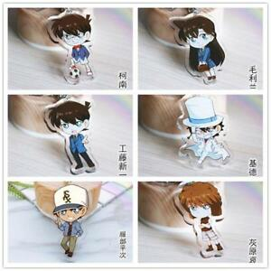 Detective-Conan-anime-Acrylic-keychain-Pendant-Keyring-key-chains-ornament-new