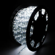 string fairy lights cool white 150ft led rope light 110v 2 wire diy lighting outdoor christmas party