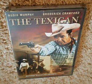 The Texican Dvd Audie Murphy Broderick Crawford Western