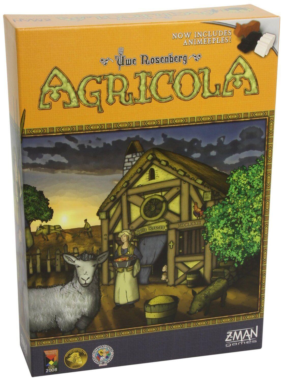 Agricola w  Animeeples [tavola gioco, Z-uomo, 1-5 Players, 1-2  Hours, Ages 12+] nuovo  fantastica qualità