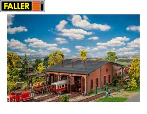Faller-H0-190069-Aktions-Set-Wagenhalle-mit-Zubehoer-NEU-OVP
