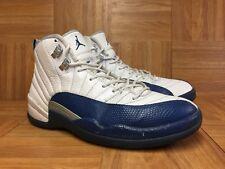 351302831e96 item 4 RARE🔥 Nike Air Jordan 12 XII Retro French Blue White Silver Sz 9  130690-113 Men -RARE🔥 Nike Air Jordan 12 XII Retro French Blue White  Silver Sz 9 ...
