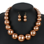 Fashion-Boho-Crystal-Pendant-Choker-Chain-Statement-Necklace-Earrings-Jewelry thumbnail 111