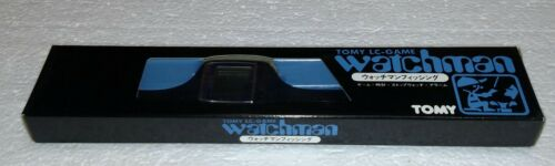 VINTAGE TOMY WATCHMAN LC GAME FISHING GAME BRAND NEW