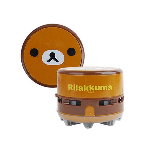 Rilakkuma Mini Vacuum Cleaner Corner Table Desk Dust Cute Child Sweeper Portable